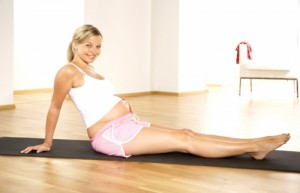 спорт, беременность