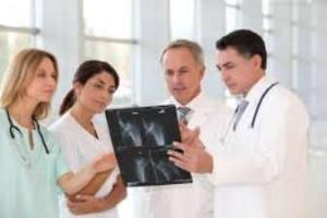 клиника, ортопед, врач, снимок