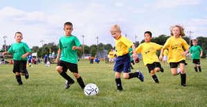 спорт, дети, футбол