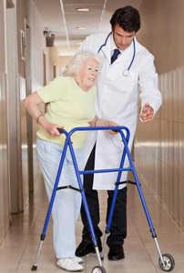 старость, ходунки, инвалидность