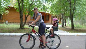 велосипед, ребенок, зож