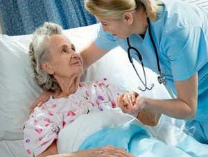 старость, лежачий больной, реабилитация