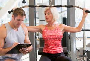 тренировка, упражнения