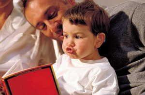 заикание, отец, ребенок, чтение