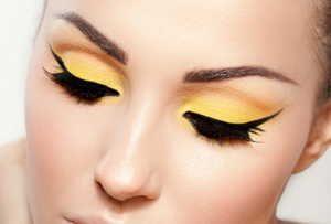 макияж, тени, брови