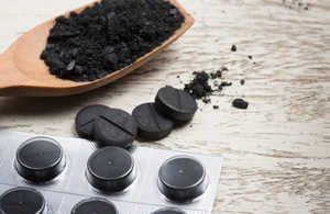 активированный уголь, отравление